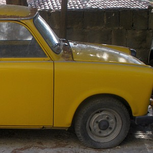 old Bulgarian car