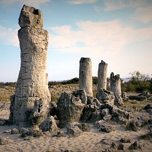 Stone forest Bulgaria