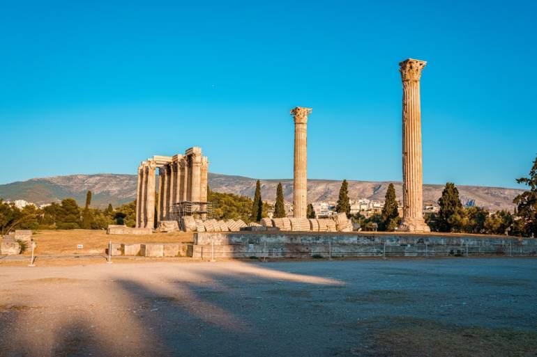 Temple of Olympian Zeus Columns
