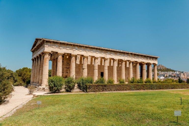 Well Preserved Temple of Hephaestus