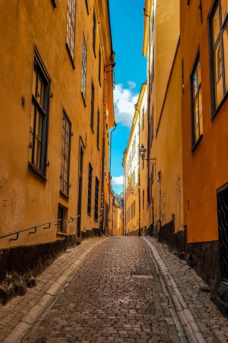 Narrow Street at Gamla Stan