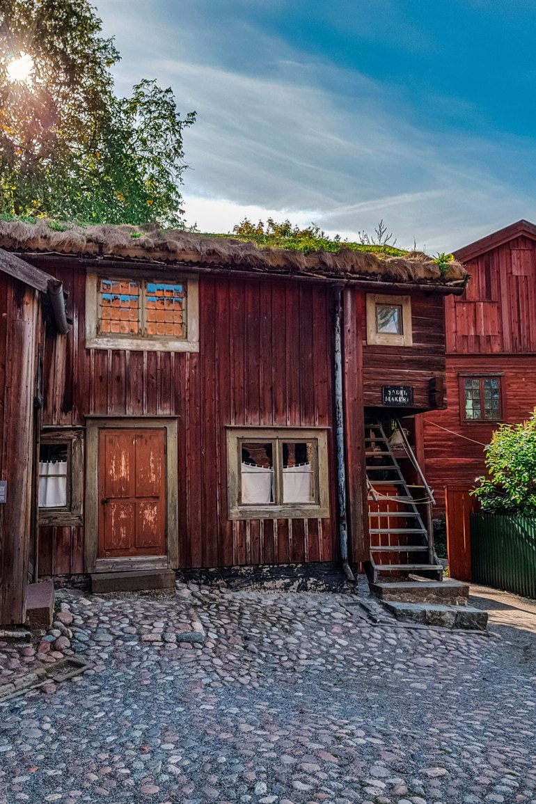 Traditional Wooden House Skansen