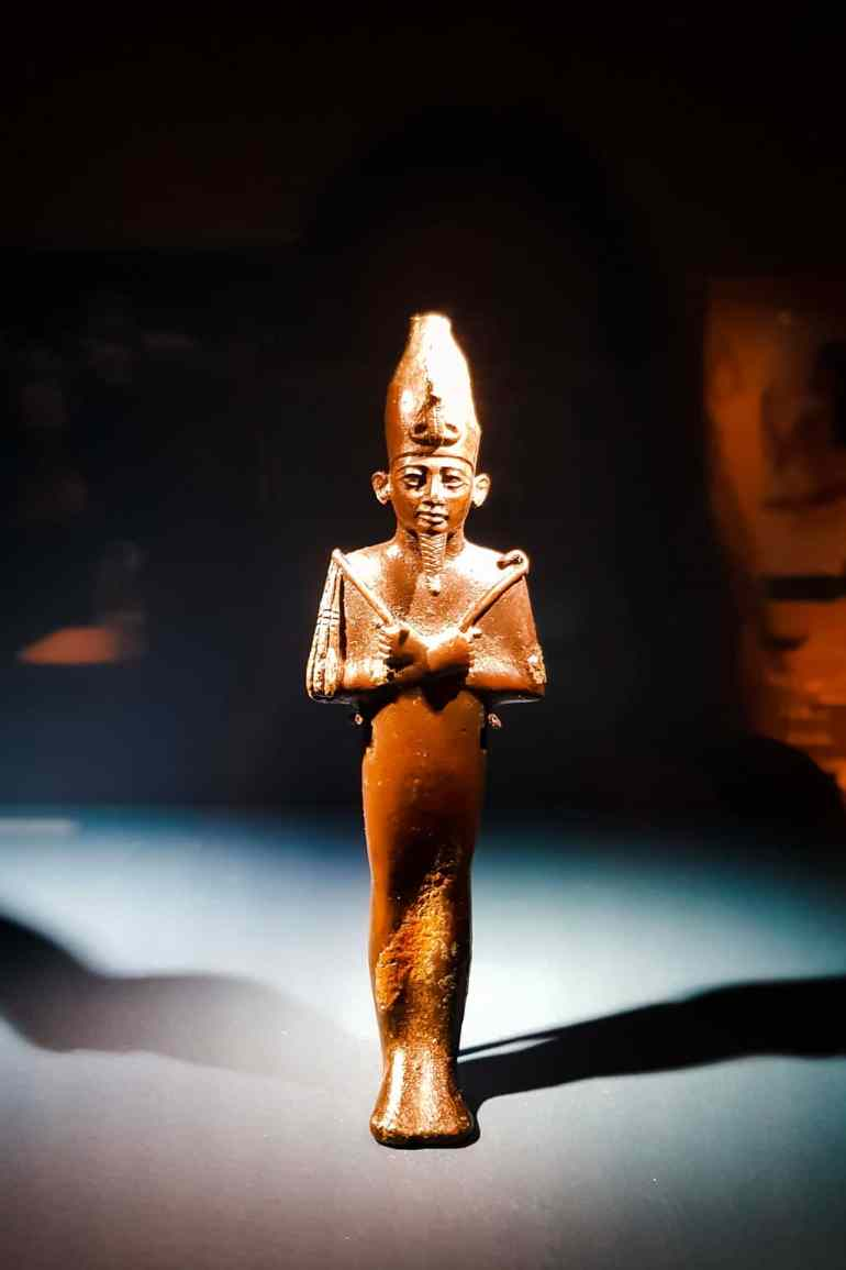 Egyptian Statue at Medelhavsmuseet