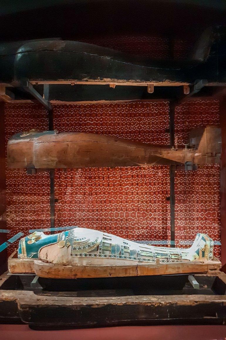 Mummy at Medelhavsmuseet