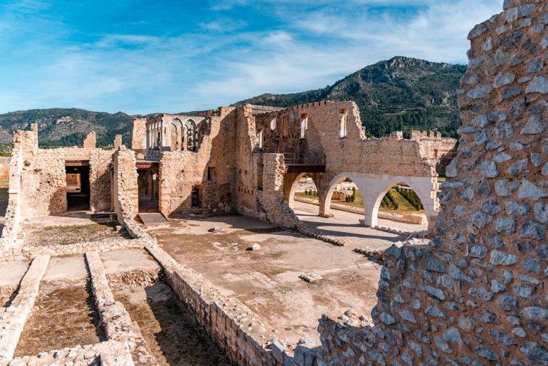 Ruins of Santa Maria de la Valldigna Monastery