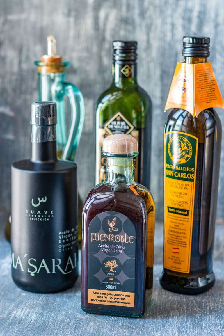 Selection of Spanish Olive Oils