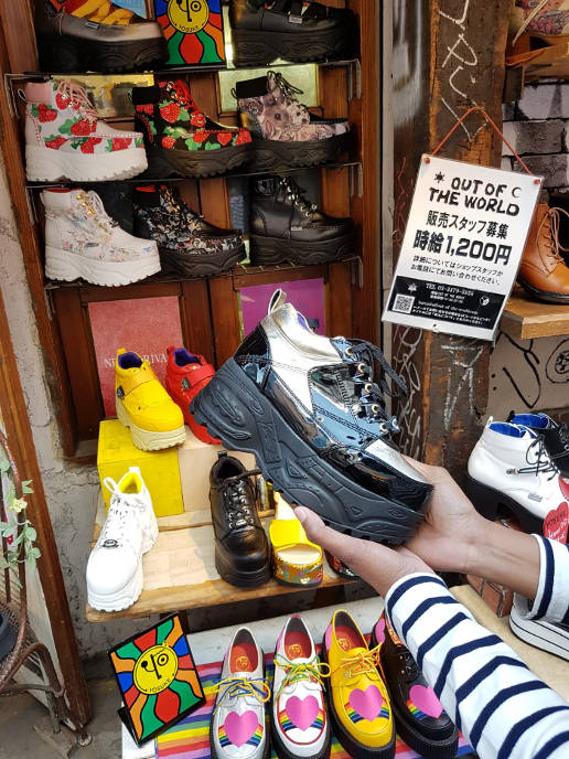 Top 5 places to shop at in Takeshita Street: Out of the World