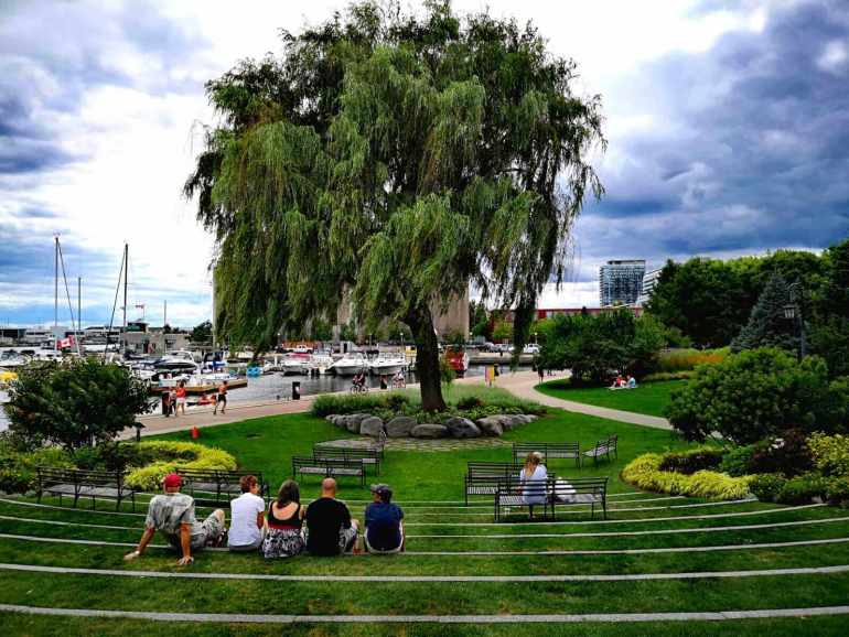 Toronto Free Things to Do: Listen To Music  in Toronto's Music Garden