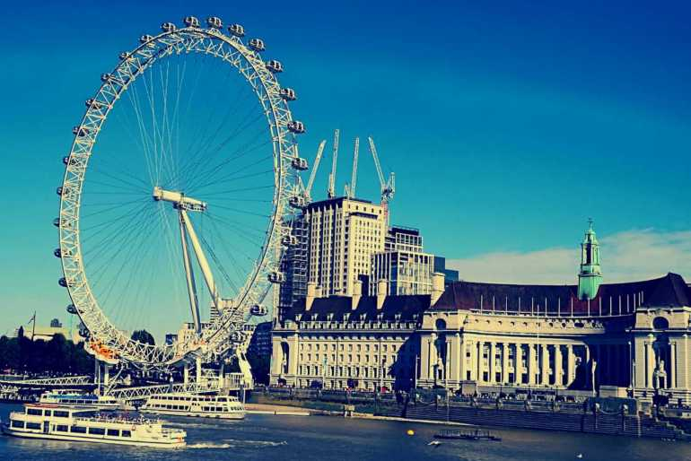 Day 1 of 3 Days in London Itinerary - London Eye and Big Ben
