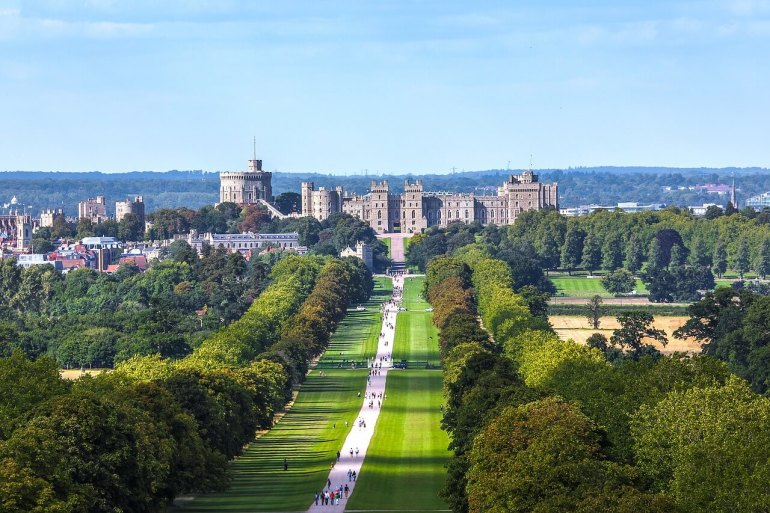 Day trips from London by train : Windsor