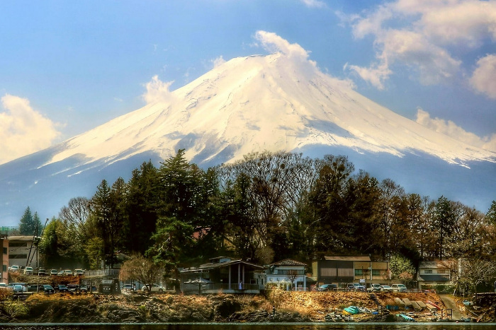 Best places to visit in Japan: Lake Kawaguchi