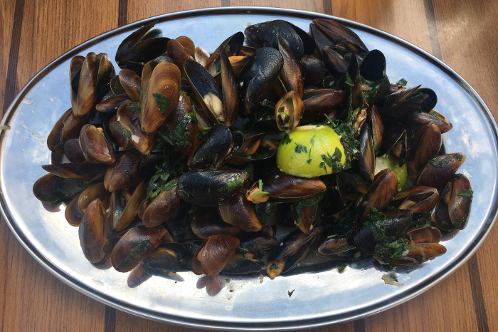 Best seafood dishes around the world - Black Sea Mussels, Bulgaria, eastern Europe