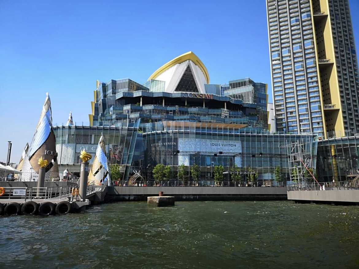 ICONSIAM is located on the banks of the Chao Phraya river
