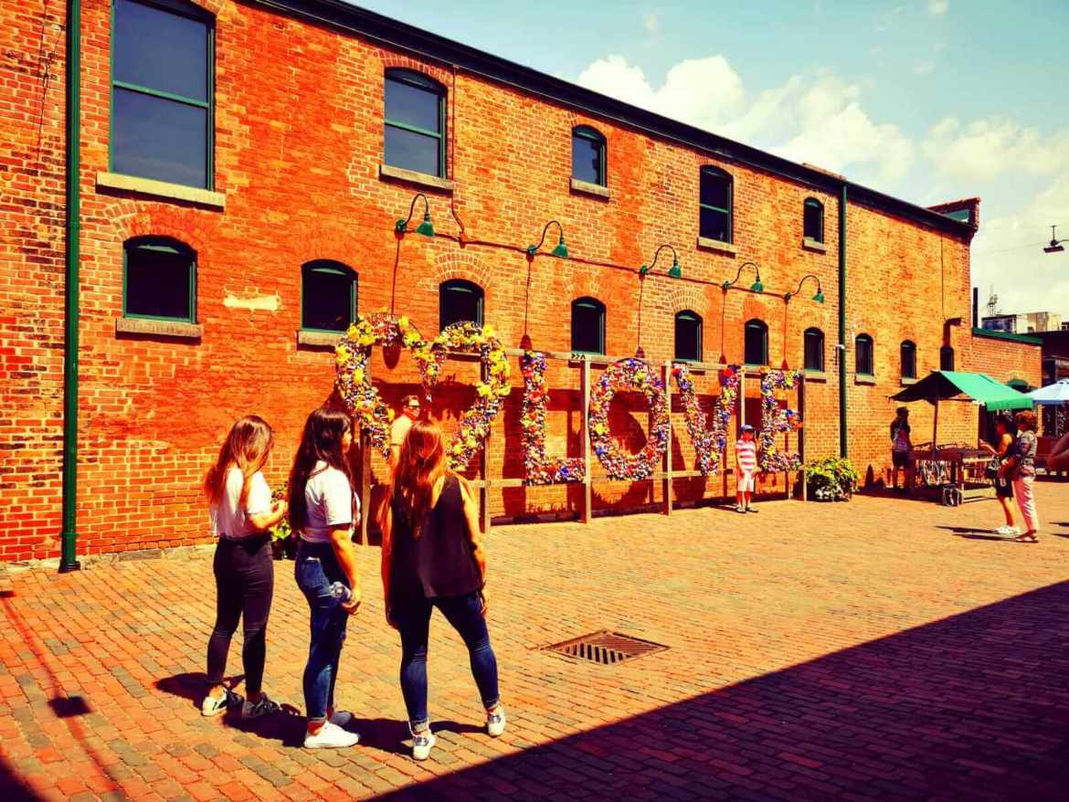 Shopping in Toronto - Distillery District