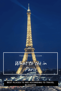 What to see in Paris? Hear from travel bloggers who recommend the top sights. #Paris #WhattoseeinParis #thingstoseeinParis