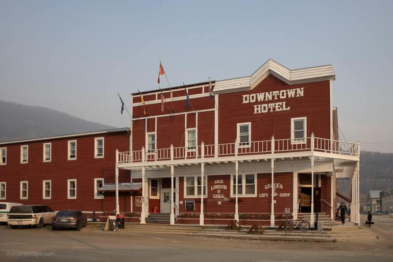 Historic Hotels in Yukon - Downtown Hotel