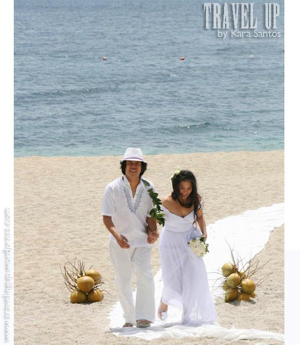 Beach wedding in batangas travel up happy anniversary guys junglespirit Images