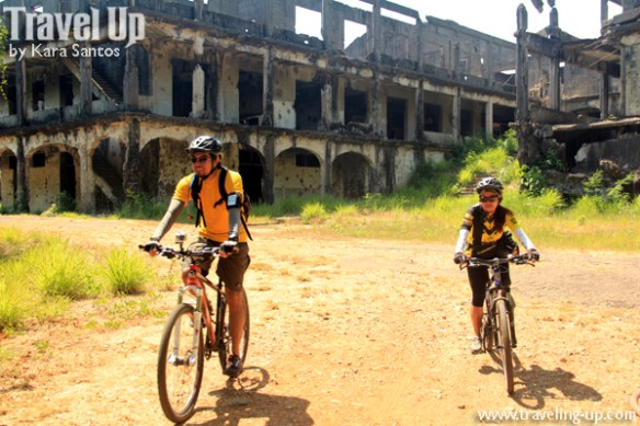 corregidor biking hospital ruins