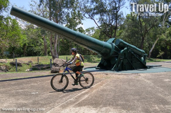corregidor island philippines biking battery hearn