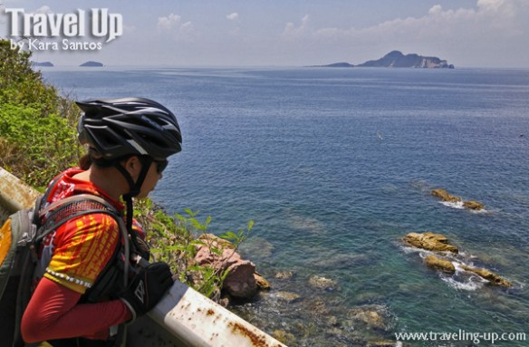 corregidor island philippines biking beach view overlooking