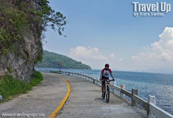 corregidor island philippines biking coastal road