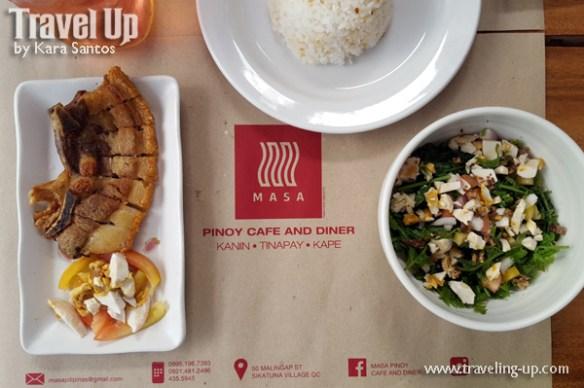 masa pinoy cafe and diner maginhawa