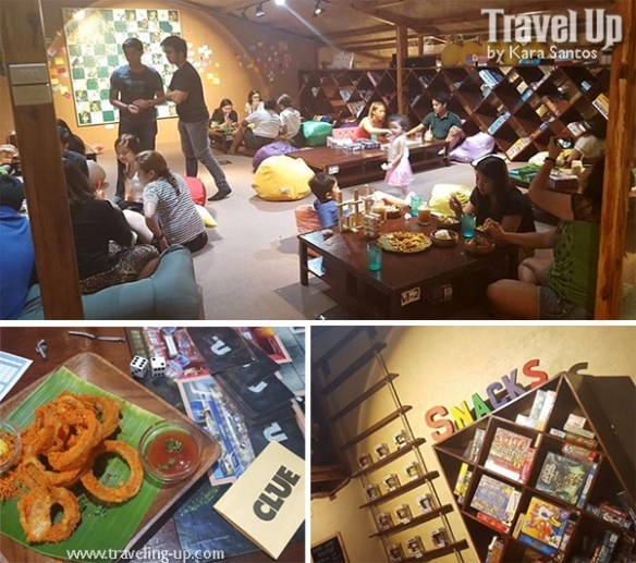 snacks & ladders board game bistro maginhawa