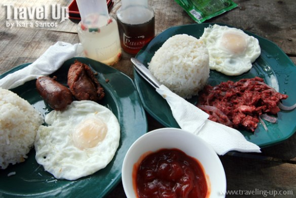 sierra madre hotel & resort breakfast