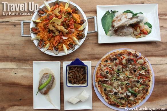 woodstone kitchen naga city paella pizza