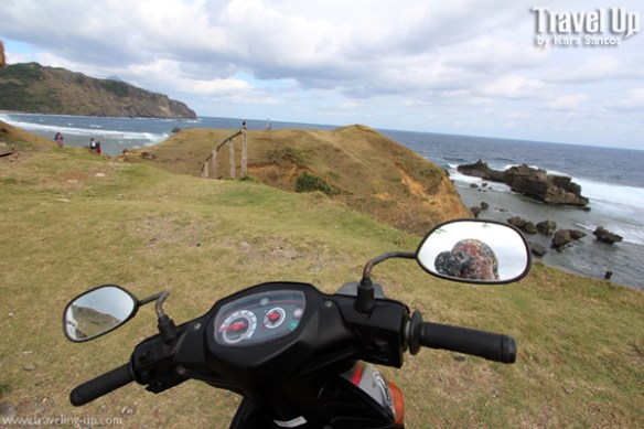 alapad rock formations batanes motorcycle