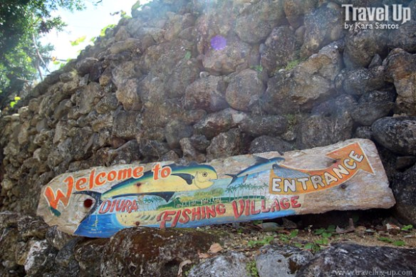 diura fishing village sign batanes