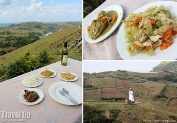 lunch at marlboro hills batanes