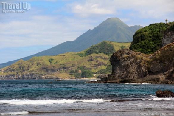 white beach batanes view