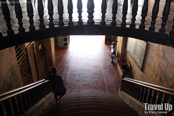 siquijor lazi convent stairs