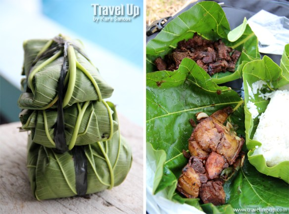 itbayat batanes packed lunch nipoho leaves
