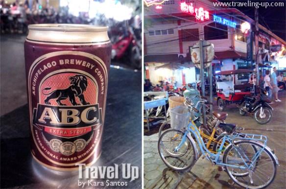 ABC extra stout beer cambodia