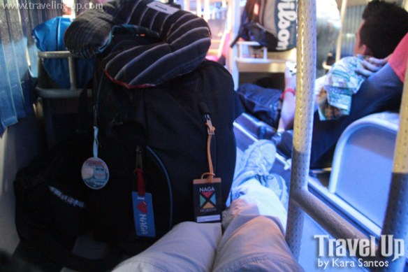 targus backpack  bus from naga