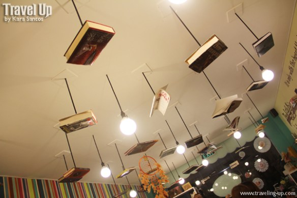 05. chapters book cafe dipolog books ceiling
