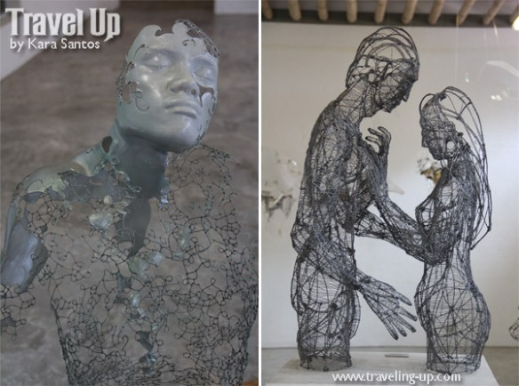 pinto art museum antipolo wire sculptures