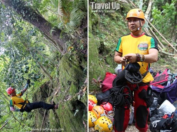 nalalata waterfalls rappelling camarines sur 10