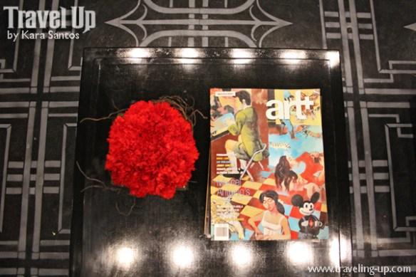 amelie hotel manila lobby art magazine