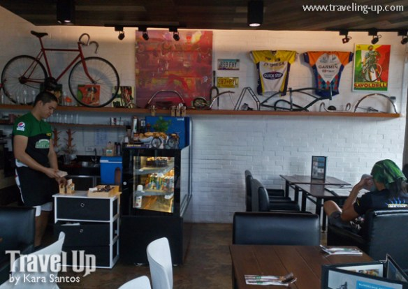 bikers cafe MOA manila interiors