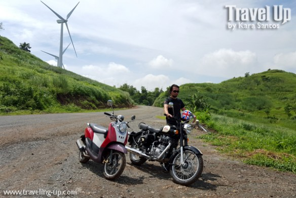 rizal wind farm motorcycles royal enfield testride