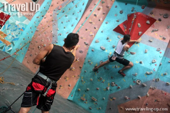indoor wall climbing power up tandang sora