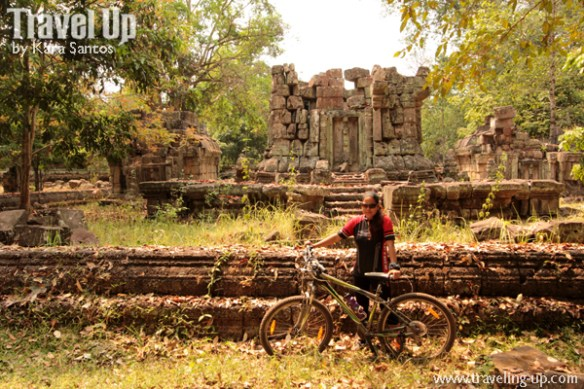 biking cambodia angkor archaeological park hidden ruins