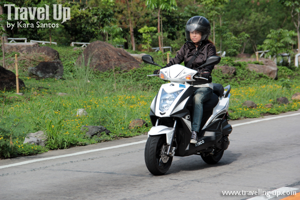 ride review kymco agility 125 travel up. Black Bedroom Furniture Sets. Home Design Ideas