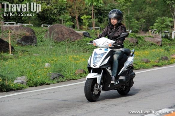 kymco agility 125 travelup