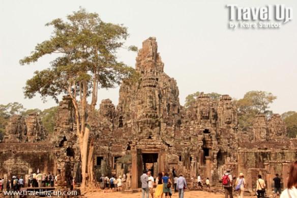 biking cambodia angkor archaeological park bayon