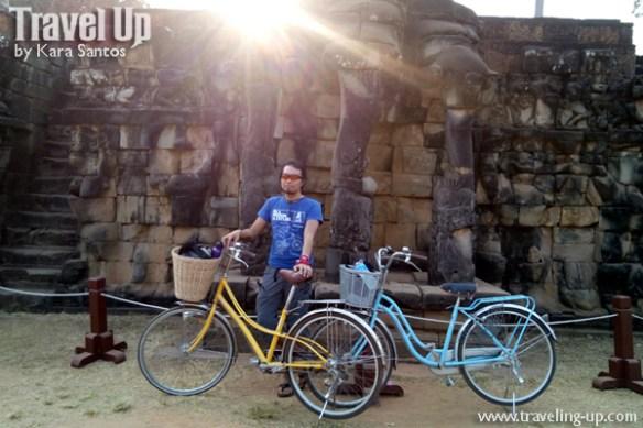 biking day 2 cambodia angkor archaeological park terrace of the elephants bikes