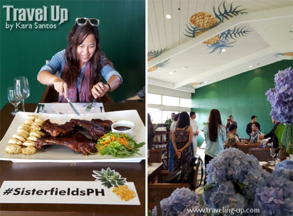 sisterfields by cravings tagaytay ribs travelup interiors